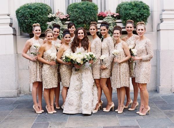 New orleans black tie wedding celebrity style weddings for Weddings with black bridesmaid dresses