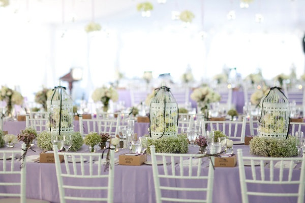 Weddings Are Always Looking For Unique Ways To Make Each Wedding And Reception Memorable So When We Stumbled Upon These Birdcage Centerpieces