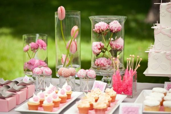 Delicate Dessert Table