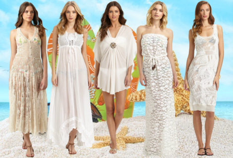 Beach Bride: White Beach Cover Ups