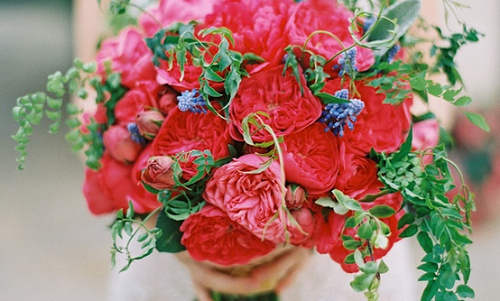 Inspirations: Romantic Wedding Bouquets