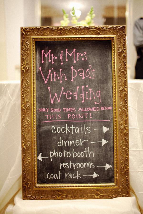 10 creative wedding chalkboard ideas celebrity style for Unique chalkboard ideas