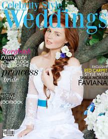 Celebrity Style Weddings December 2013 Cover