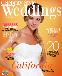 Celebrity Style Weddings Magazine August 2013 Cover