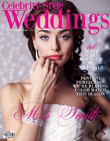 Celebrity Style Weddings Magazine January - February 2015 Cover