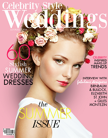 Celebrity Style Weddings Magazine July - August 2014 Cover