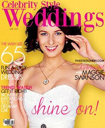 Celebrity Style Weddings Magazine June 2013 Cover