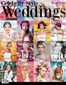 Celebrity Style Weddings Magazine March April 2015 Issue