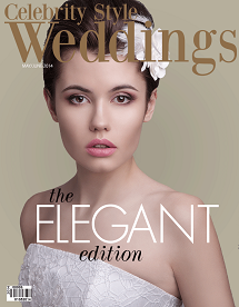 Celebrity Style Weddings Magazine May-June 2014 Cover