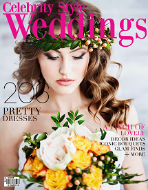 Celebrity Style Weddings Magazine May-June 2015 Cover