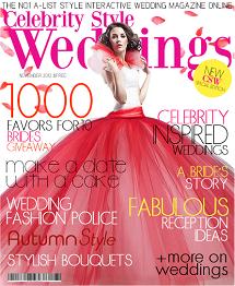Celebrity Style Weddings Magazine November 2012 Cover