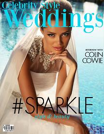Celebrity Style Weddings Magazine November - December 2014 Cover