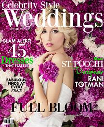 Celebrity Style Weddings Magazine September 2013 Cover