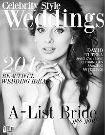 Celebrity Style Weddings Magazine September - October 2014 Cover