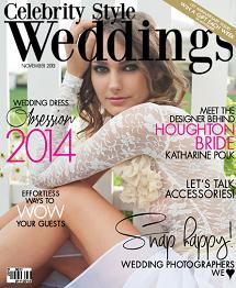 Celebrity Style Weddings November 2013 Cover