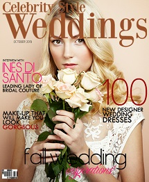 Celebrity Style Weddings October 2013 Cover