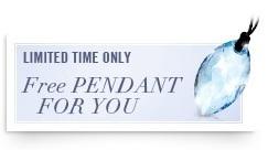 Free Swarovski Pendant For You