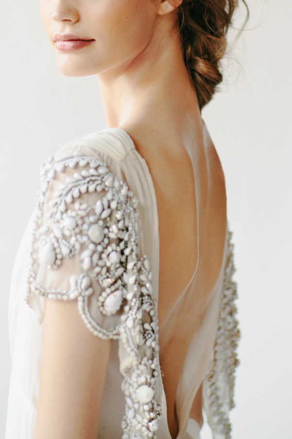 The Muse: A Backless Wedding Dress