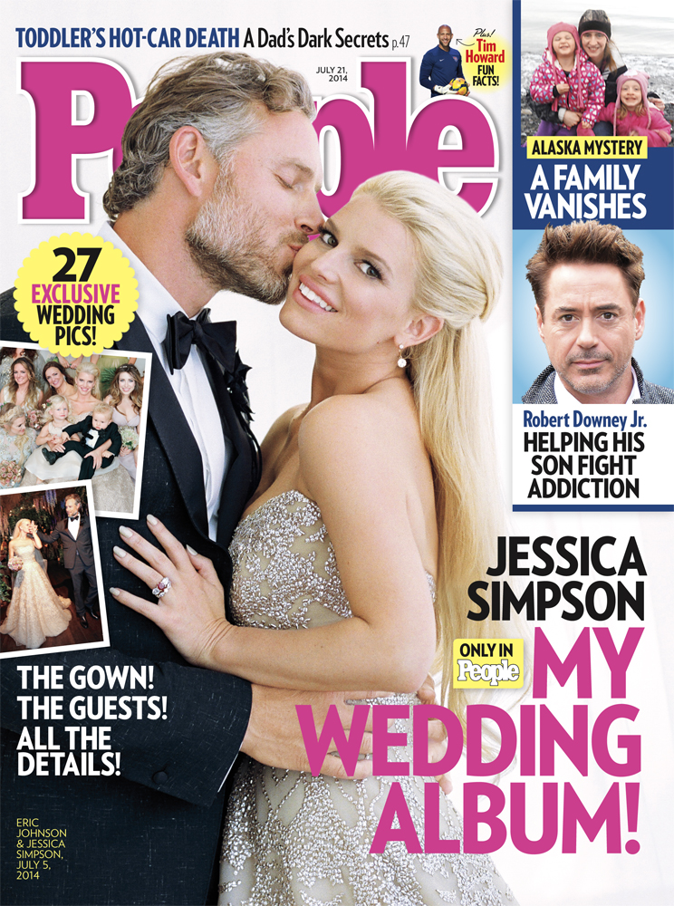 Jessica Simpson And Eric Johnson Are Back From Their Honeymoon!