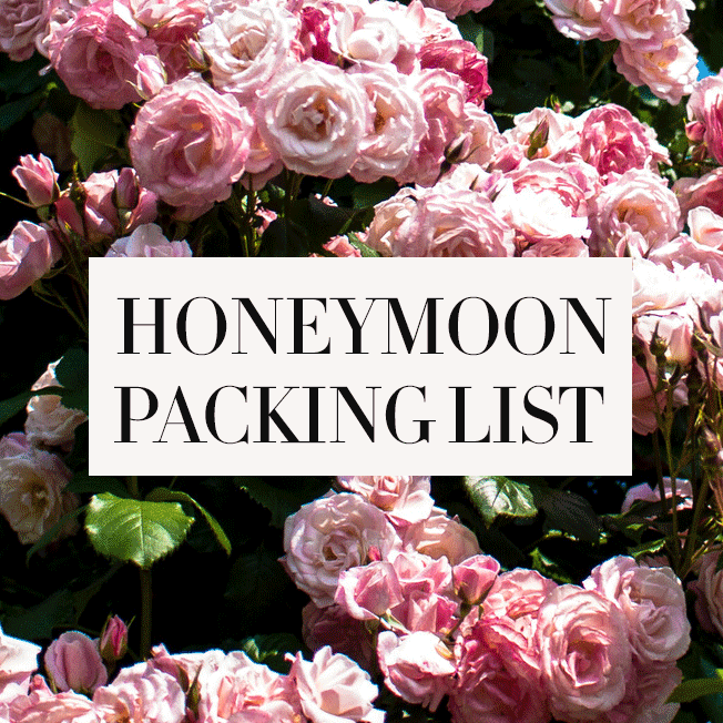 My-Honeymoon-Packing-List-Tool