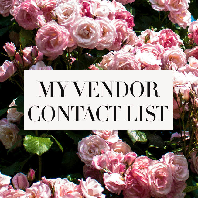 My-Vendor-Contact-List-Tool