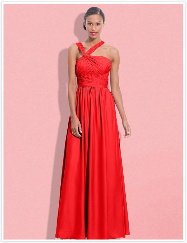 Famoso Dark Coral Bridesmaid Dresses Patrón - Ideas de Vestido para ...