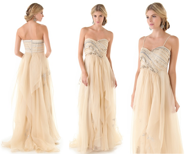 9 Beautiful Wedding Gown Trends - Celebrity Style Weddings